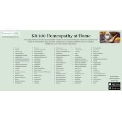Kit 100 Homeopathy at Home